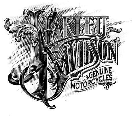 tattoo lettering harley harley davidson by abraham garc 237 a lettering