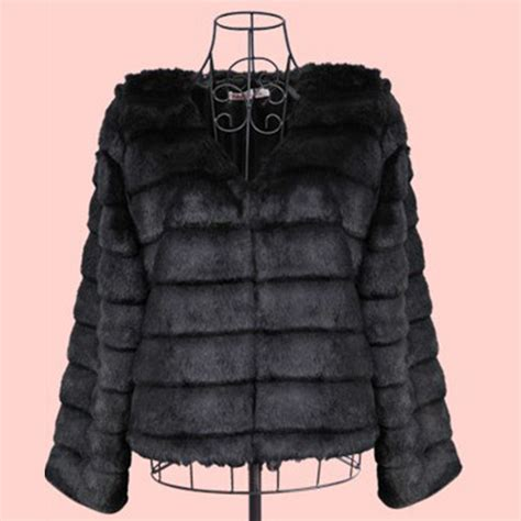 Top With Faux Fur Detail On The Sleeves winter jacket faux fur tops coat sleeve outerwear parka overcoat ebay