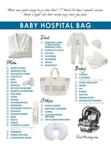 packing hospital bag for c section the 25 best ideas about hospital bag checklist on