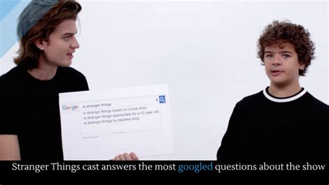 most googled questions here are the most googled stranger things cast answers the most googled questions