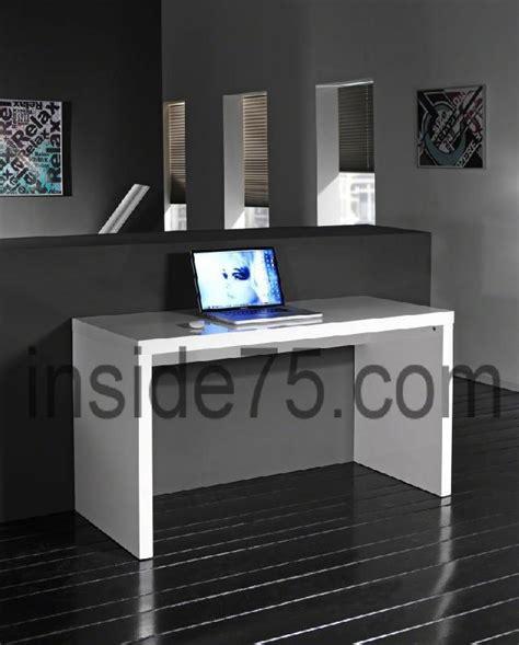 bureau design contemporain bureau design contemporain laque blanc