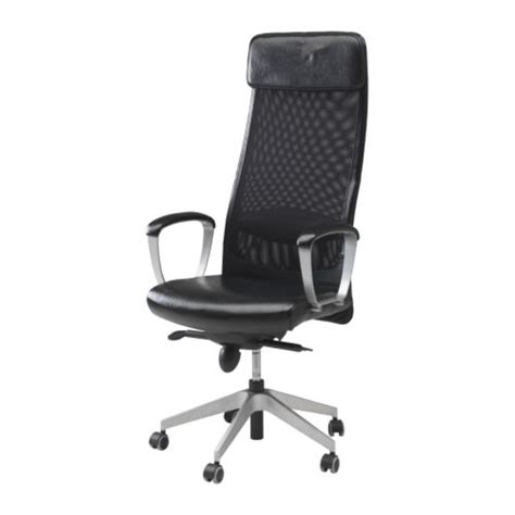 Office Chairs Ikea Markus Swivel Chair Glose Black Ikea