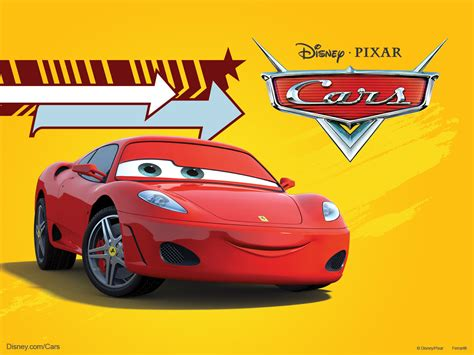disney cars ferrari michael schumacher as a ferrari f430 in pixar s cars movie