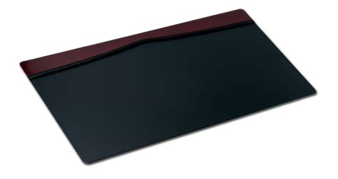 Burgundy Desk Pad by P7021 Burgundy Leather 34in X 20in Top Rail Desk Pad