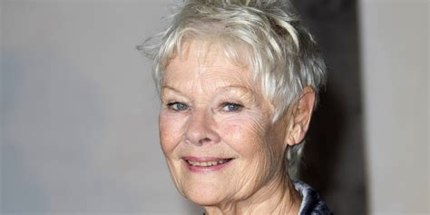 judy dench teeth judy dench hairstyle front and back judy dench hairstyle
