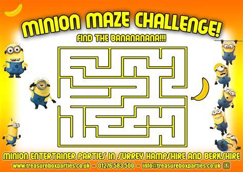 printable minion maze 100 line maze activity sheet pages free disney
