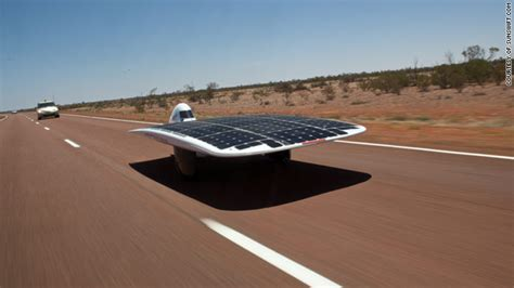 Solar Powered Cruise Cars Use The Sun On The Golf Course by Solar Powered Car Smashes Speed Record Cnn