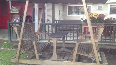lawn glider swing plans how to build a porch swing glider youtube autos post