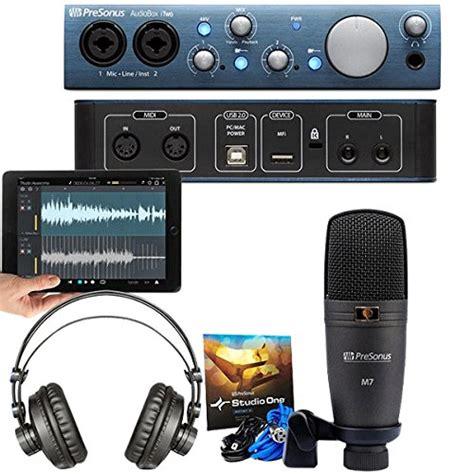 Audiobox Bbx 300 T3010 1 Presonus Audiobox Itwo Studio Complete Mobile Hardware