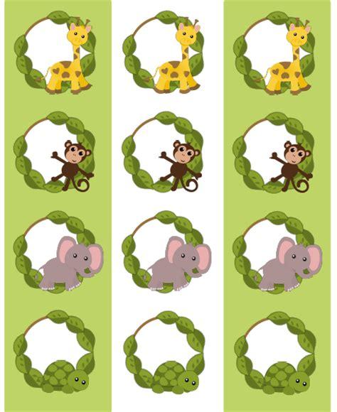 printable jungle labels kids labels jungle gym super pack free worldlabel blog