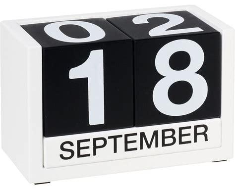 perpetual block calendar modern desk accessories by