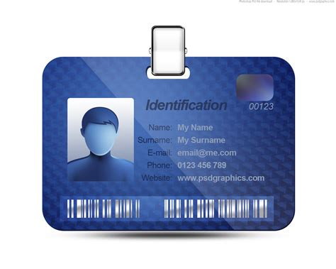 business name tag template company id card design template