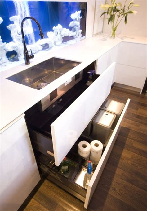 modern kitchen drawers essential space saving tips for the kitchen