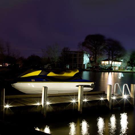 led dock lights outdoor recessed deck dot led light kit dekor 174 lighting