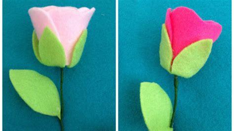 tutorial membuat buket bunga mawar dari kain flanel buket bunga dari flanel amuslima