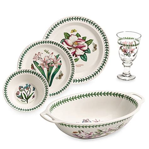 Botanical Gardens Dishes Portmeirion 174 Botanic Garden 17 Dinnerware Set Www Bedbathandbeyond