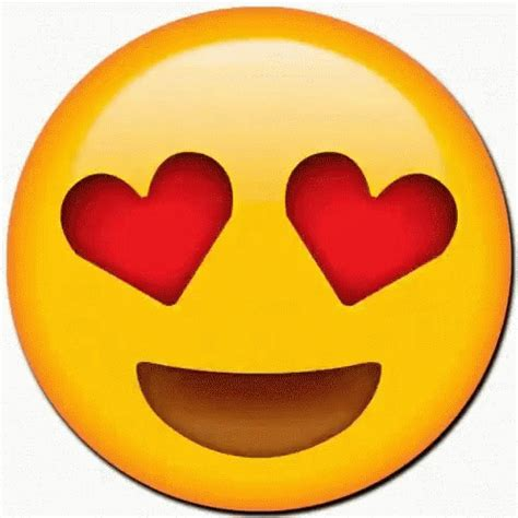 imagenes de smile love emoji heart eyes gifs tenor