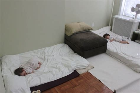 Sleeping With Mattress On The Floor by Sleeping For The Montessori Way This Skipped
