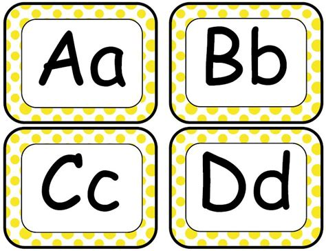 word wall template printable classroom freebies yellow word wall letters