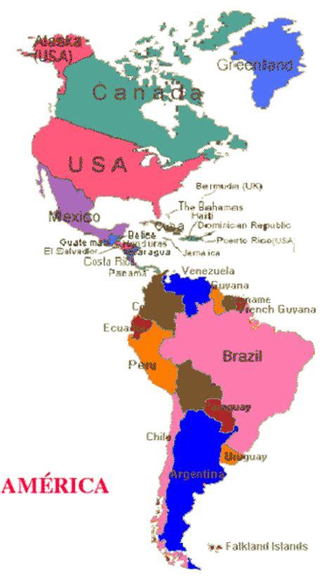 mapa politico de america con todos los paises historia geograf 237 a formaci 243 n ciudadana islgsm mapa de