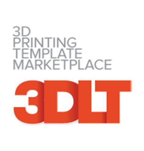 3d print templates 3ders org new 3d printing template marketplace