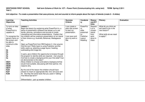 ict plan template year 2 ict plan powerpoint by oliverjames teaching