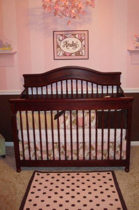 pink and brown nursery 1000 images about girl nursery on pinterest brown