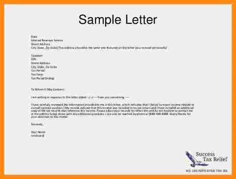 Explanation Letter Heading 7 Explanation Letter Format Musicre Sumed
