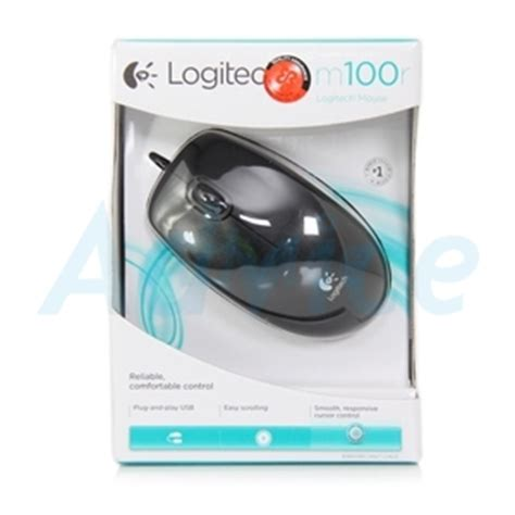 Logitech Mouse Optical M100r usb optical mouse logitech m100r black
