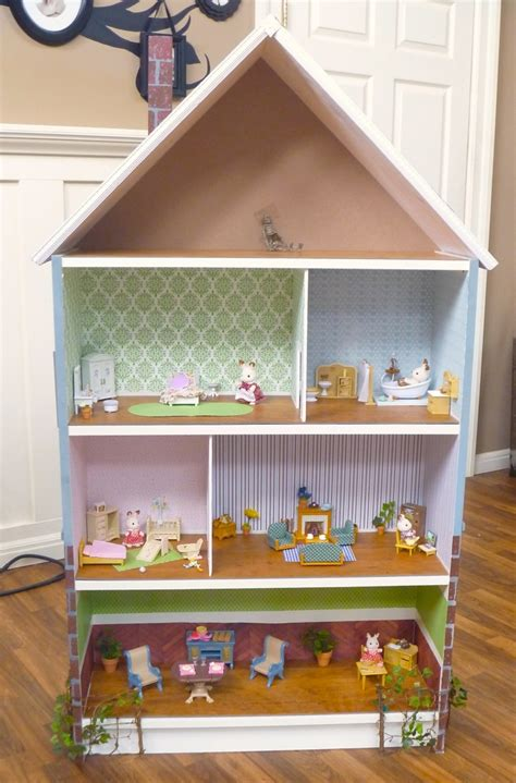 ikea wooden dolls house dollhouse bookcase billy hack ikea hackers ikea hackers