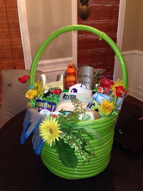 garden hose gift basket gardening gift baskets garden