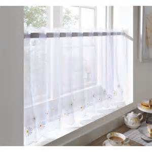 daisy kitchen curtains daisy kitchen curtain voile cafe panel 24 yellow