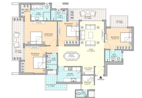Latitude Floor Plan by M3m Latitude Sector 65 Golf Course Extension Road Gurgaon