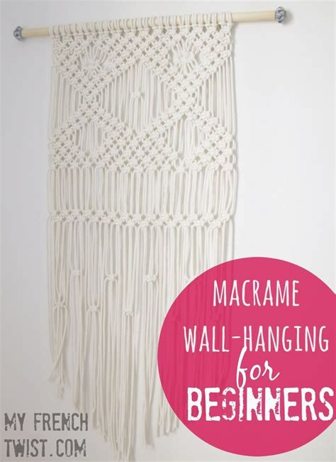 Macrame For Beginners - 25 best ideas about macrame wall hangings on