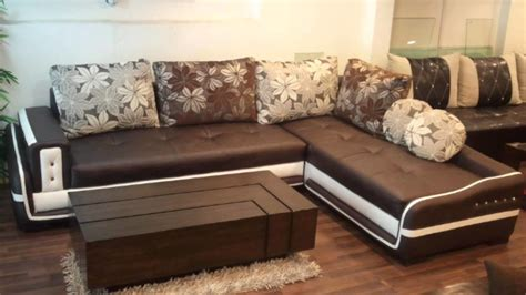 designer l corner sofa set modern living room