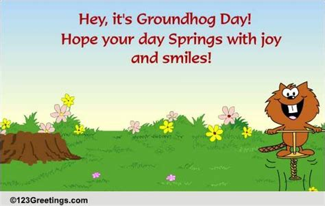groundhog day 123 cheerful groundhog day free groundhog day ecards