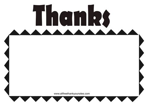 simple note template for thank you cards thank you black and white clipart panda free clipart
