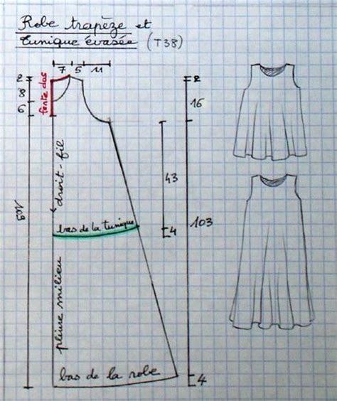 pattern trapeze dress trapese dress pattern lots of patterns on this site