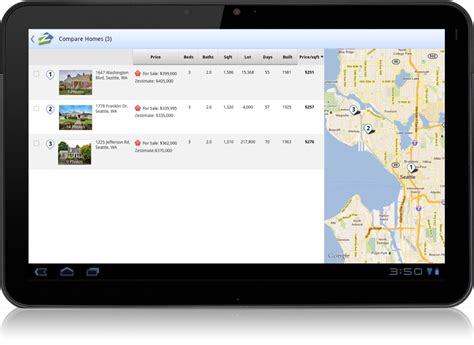zillow app for android zillow launches android tablet app incorporates voice search and gps the american genius