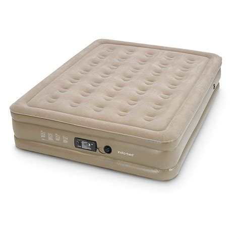 queen air bed insta bed queen double high air mattress 610961 air