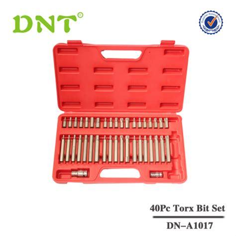 Tekiro Torx Key Set 6 Pcs T 40 40pc torx spline hex socket bit set bit set dnt