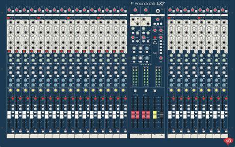Mixer Lx7 soundcraft lx7ii 24 mixers sudeepaudio