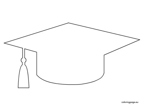 graduation cap template school pinterest template