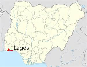 Lagos Africa Map by Maps L A G O S Nigeria