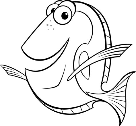 dory coloring pages best coloring pages for kids