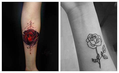 imagenes de rosas minimalistas tatuajes de rosas para hombres y mujeres historia y