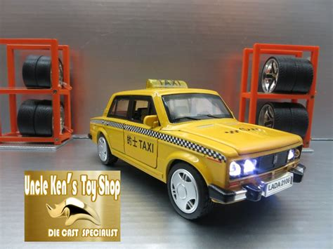 lada multicolore wholesale diecast lada taxi car model vintage metal car