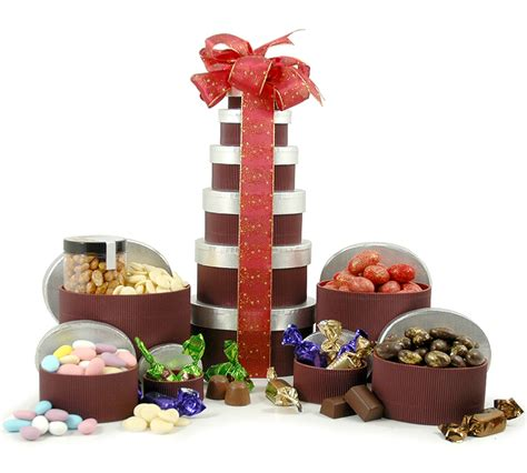 chocolate nut tower 171 christmas gift hers christmas