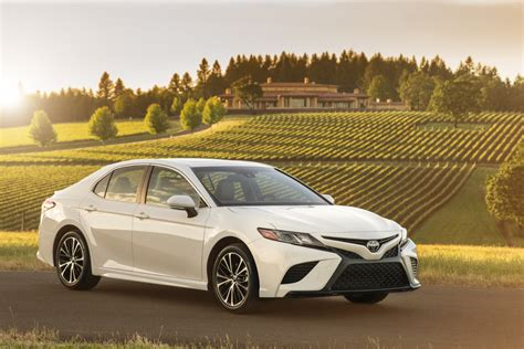 White Toyota Camry Toyota Truly Believes 2018 Camry Will Do For Midsize