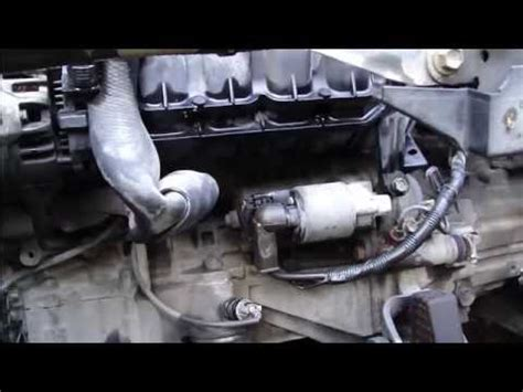 2005 Toyota Corolla Starter How To Replace Start Motor Toyota Corolla Vvti Engine